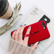 Fashion Cover For Huawei Mate 10 Lite Case Anti Shock Holder Stand Silicone Phone Case For Huawei Nova 2i Honor 9i Back Cover