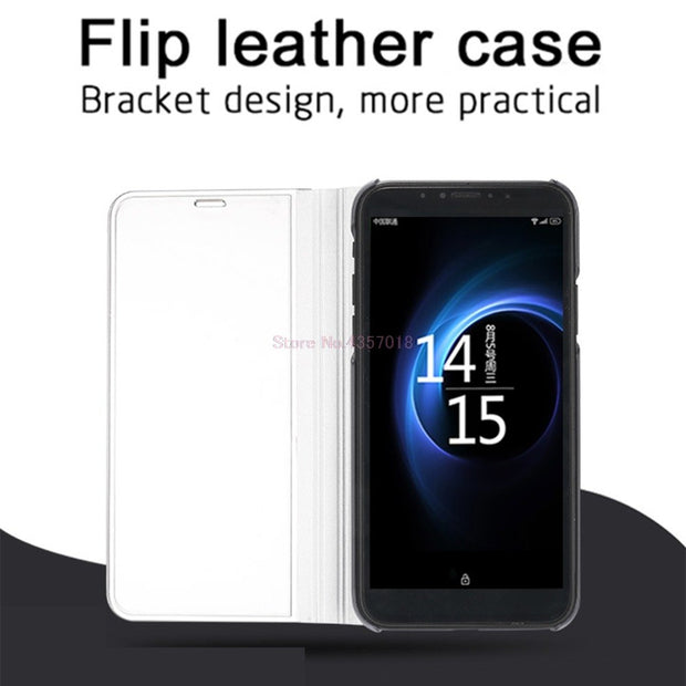 Flip Case For Huawei P Smart Enjoy 7S Mirror Smart Case For Huawei Enjoy 7s FIG-AL10 FIG-LX1 FIG-LX2 Stand Cover Coque Enjoy 7s