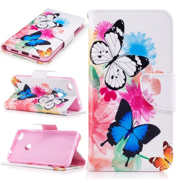 Flip Case For Huawei Honor 8 Lite PRA LX1 TL10 LX2 Case Phone Leather Cover For Huawei Honor8 Lite PRA-LX1 PRA-TL10 PRA-LX2 Bag