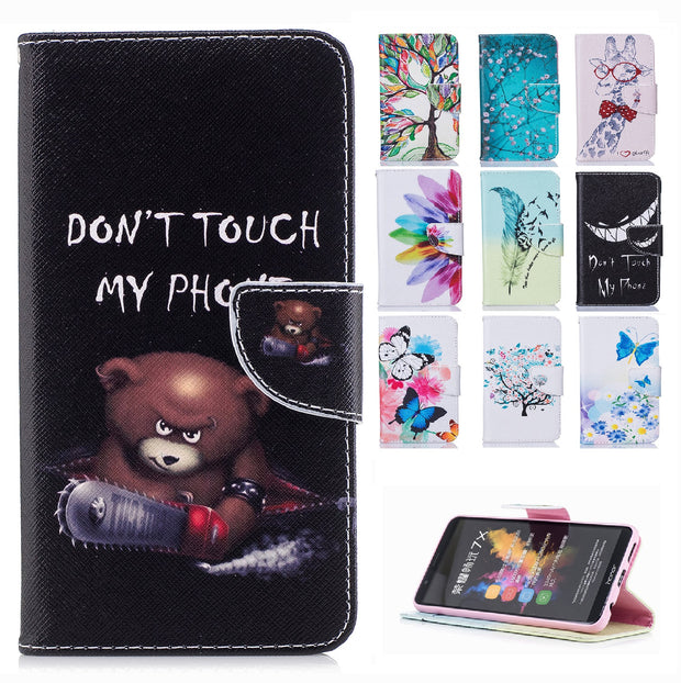 Flip Case For Nokia 5 2017 TA-1053 TA-1008 Case Phone Leather Cover For Nokia5 TA 1053 1008 Painted Wallet Silicone Cases Bag