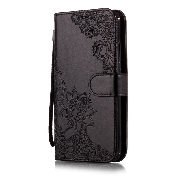 Flip Cover For Asus Zenfone 5 Case Embossed Leather Case For Zenfone 5 ZE620KL 5Z ZS620KL Phone Cases & Bags Coque Fundas