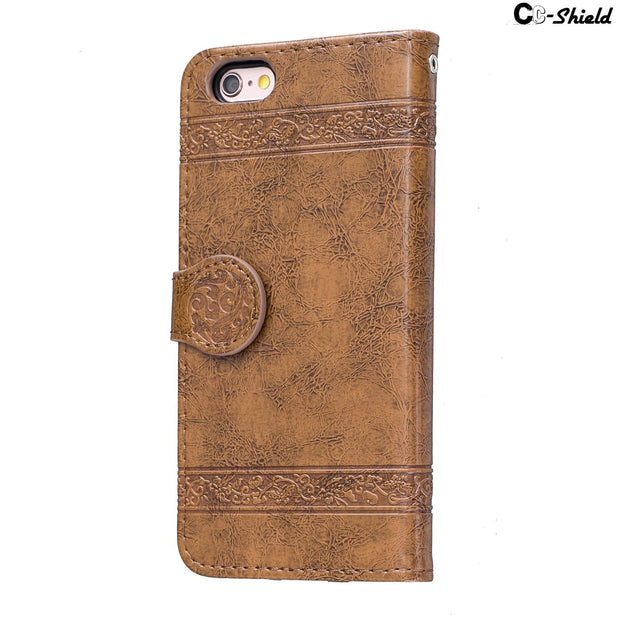 "Flip For Apple IPhone 6 S Plus Case IPhone6 IPhone6s Case Phone Leather Cover For Apple 6 Plus IPhone 6Plus 6S 4.7"" 5.5"" Bag"