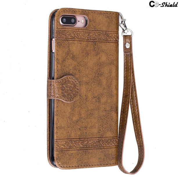 "Flip For Apple IPhone 7 Case IPhone7 Plus Case Phone Leather Cover For Apple 7 Apple7 Plus IPhone 7Plus 6S 4.7"" 5.5"" Cases Bag"