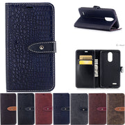 Flip For LG K 7 LGK7 (2017) LGX230 LG-X230 Case For LG K7 2017 X230 X 230 Case Phone Leather Cover Cases Silicone Core Bag