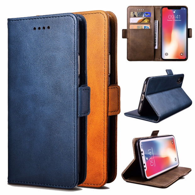 huge discount 6d81f 92ec8 For Alcatel 5V 5060D Phone Case Luxury Leather Flip Wallet Bracket Simple  Fashion Protective Cell For Alcatel 5V Phone Cover