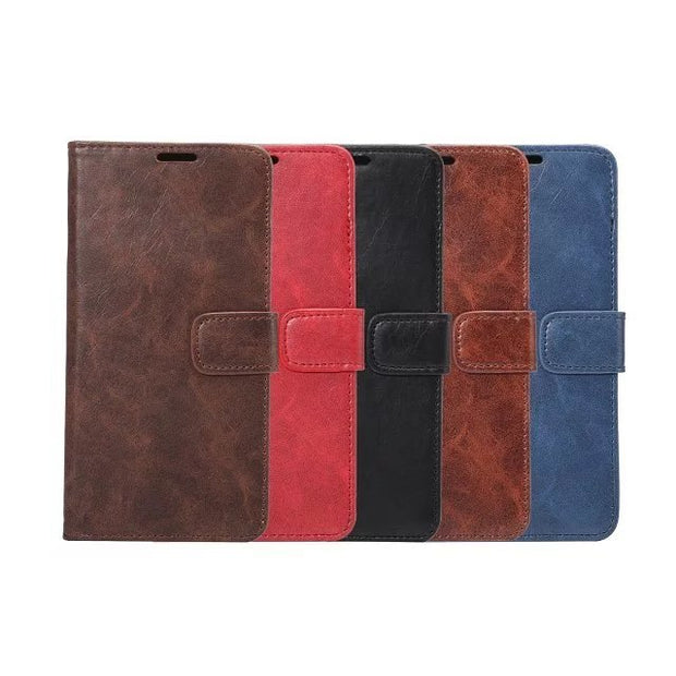 For Apple IPhone 7 4.7'' Luxury Business Style Soft Leather Flip Wallet Book Case With Card Slot For IPhone7 Stand Fold Cover