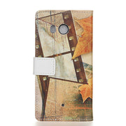 For ( HTC U11 ) Case Maple Tower Skin Leather Wallet Flip Cover Sfor HTC U11 U 11 Mobile Phone Bags Coque