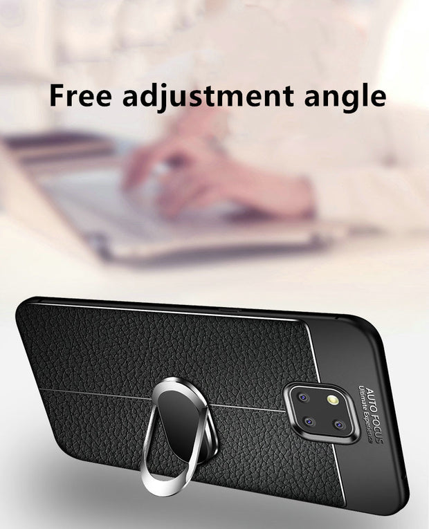 For Huawei Mate 20 Pro Case Magnet Car Ring Holder Soft Back Cover Case For Huawei Mate 20 Lite Mate20 Phone Fundas Coque Cases