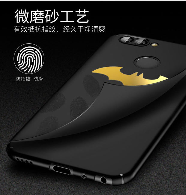 For Huawei Nova 2 2Plus Case Hard Plastic Slim Skin Matte Bat Protective Back Cover Cases For Huawei Mate 9 10 Pro Shell