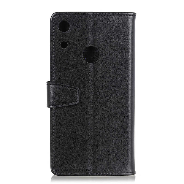 For Huawei Honor 8A Crazy Horse PU Leather Flip Cover Case Fashion Magnetic Snap Stand Wallet Card Slot Case For Honor 8A