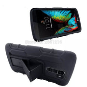 For LG K10 Shockproof Future Armor Belt Clip Holster Case With Kickstand Cover For LG K10 LTE K420N K430 K430ds K 10 5.3 Inch