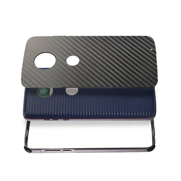 For Motorola Moto X4 Dual Layer Shockproof Detachable Carbon Fiber Hybrid Case For Motorola Moto G5S G5S Plus B02