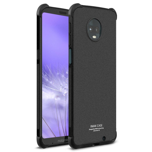 For Motorola Moto Z3 Play Case IMAK Full Cover Soft Silicone TPU Airbag Back Cover Case For Moto Z3 Play Gift Screen Protector