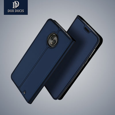 For Mototola Moto G6 Plus Case DUX DUCIS Luxury Leather Wallet Book Flip Case Cover For Moto G6 Plus Coque G6 G6 Plus Phone Case