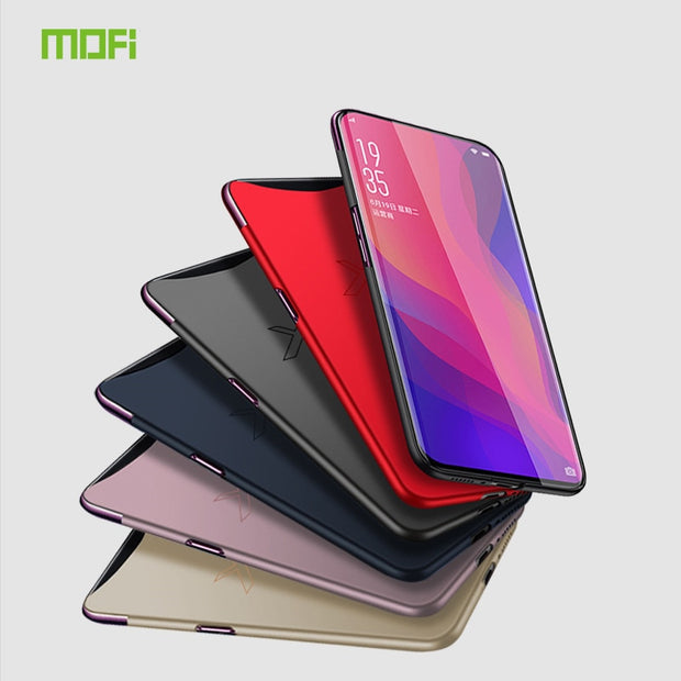 For OPPO Find X Case 6.42 Inch MOFi Hard PC Protective Cases Back Cover Case For OPPO Find X Cover Phone Shell
