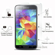 For SAMSUNG Galaxy S5 Mini S5 Duos Active Tempered Glass For Galaxy I9600 Neo G900F G800F Screen Protective Film Cover Case