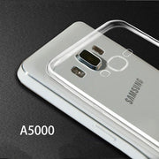 "For Samsung A5 A5000 A5009 Case Transparent Soft Silicone Shell 5.0"" Ultra Thin Cover"
