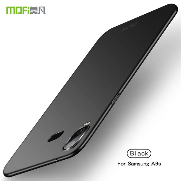For Samsung Galaxy A6S Case 6.0 Inch For Samsung A6S Cover MOFi Original Hard PC Protective Case For Galaxy A6S Back Cover Shell