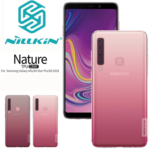For Samsung Galaxy A9 2018 Galaxy A9s Galaxy A9 Star Pro NILLKIN Nature TPU Soft Back Cover Case With Retail Package