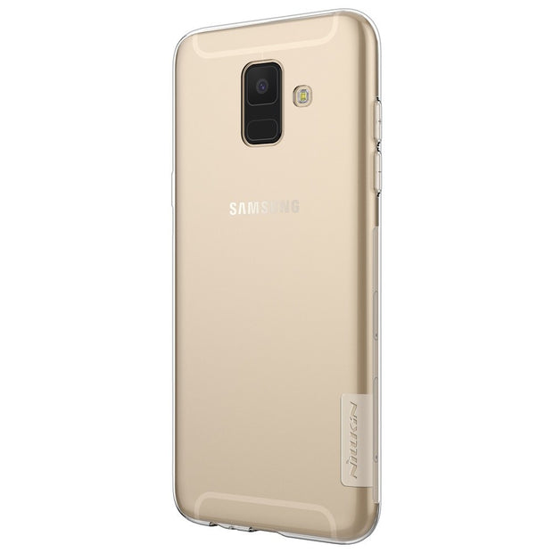 For Samsung Galaxy A9 Star Lite Galaxy A6+ NILLKIN Nature TPU Soft Back Cover Case With Retail Package