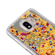 For Samsung Galaxy J2 Pro 2018 Phone Case Mirror Sand Mobile Phone Protection Shell For Samsung Galaxy J2 Pro 2018 Cover Fundas