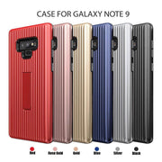 For Samsung Galaxy Note 9 Case With Kickstand Luggage Carrier Design TPU+PC 2 In 1 Dual Layer Hybrid Back Cover For Galaxy Note8