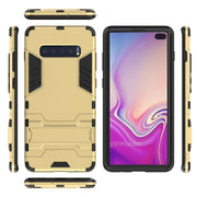 For Samsung Galaxy S10 Plus Case 2in1 Stylish Top Quality Heavy Duty Hybrid Armor Cover For Samsung S10 Plus S10Plus Phone Case