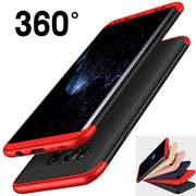 For Samsung Galaxy S8 Plus Hybrid 360 Full Body Protection Armor Shockproof Phone Cases Covers Bags For S8 Coque Capa
