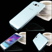 For Samsung G7200 Grand 3 SM-G7200 Case Transparent Soft Silicone Shell Ultra Thin Cover Grand3