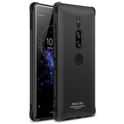 For Sony Xperia XZ2 Premium Case IMAK Full Cover Soft Silicone TPU Airbag Case For Sony Xperia XZ2 Premium Gift Screen Protector