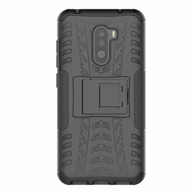 For Xiaomi Pocophone F1 Case Heavy Duty Hybrid PC+TPU Shockproof Armor Phone Cover
