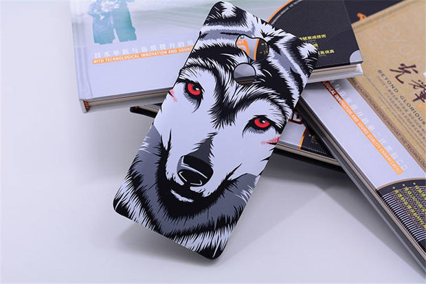 For Xiaomi Redmi 4 Pro Case For Xiaomi Redmi 4 Case Luminous Animal Elephant Tiger Hard Back Cover Phone Case For Redmi 4 Pro 4S