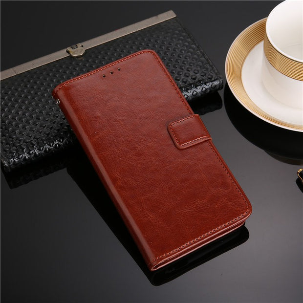 For Coque HTC Desire 12 PLUS Case Luxury Wallet Flip Leather Back Skin Capa For HTC DESIRE 12 DESIRE12 PLUS Cover Fundas Pouch