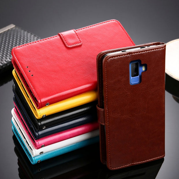 For Coque Leagoo M9 Case Wallet Flip Leather & Silicone Back Skin Stand Capa For Leagoo M9 M 9 Cover Funda Phone Pouch Bag Cases