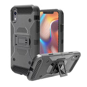 For IPhone XR Ultra Thin And Light Four-Corners Protection Armor Soft TPU + PC Cover Case 6.1inch 18#925
