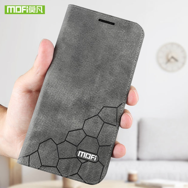 For Xiaomi Max 3 Case For Xiaomi Mi Max 3 Case Cover Mofi Silicon Max3 Leather Luxury Filp Case For Xiaomi Mi Max 3 6.9'' Fundas