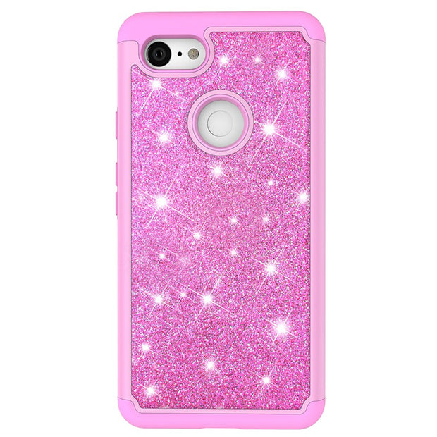 Glittering Case For Google Pixel 3 Silicon TPU Case For Google Pixel 3 XL Case Phone Cover For IPhone XS Max Case