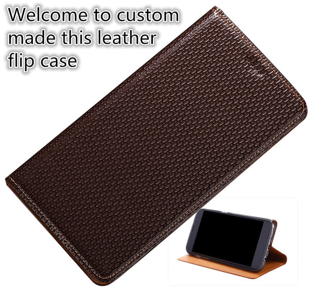 competitive price badc7 42ed7 HX15 For HTC U Ultra(5.7') Phone Case Genuine Leather Cover For HTC U Ultra  Magnetic Stand Flip Phone Case