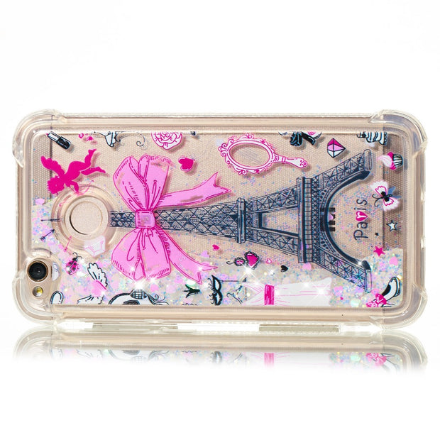 HYYGEDeal Phone Cases Glitter Gilrs Owl Pattern Quicksand Liquid Shockproof Case For Xiaomi Redmi 4X/5/5 Plus/5A/Note 4/Mi 5X A1