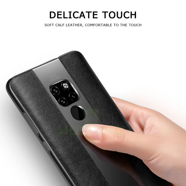 High-grade Leather Case For Huawei Mate 20 Lite Cover For Huawei Mate 10 Pro Porsche Silicone For Huawei Mate 20 Pro TPU Case
