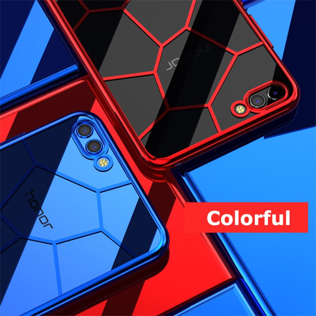 Honer Case On Honor View 10 For Huawei Honor10 V10 V 10v View10 Coque Soft Silicone Cover Shockproof Transparent Cases Huawey