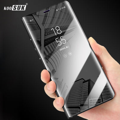 Honor 8A Case For Huawei Honor 8a Cover Luxury Mirror Flip Full Protection Cover Phone Shell SFor Huawei Honor 8a Coque Funda