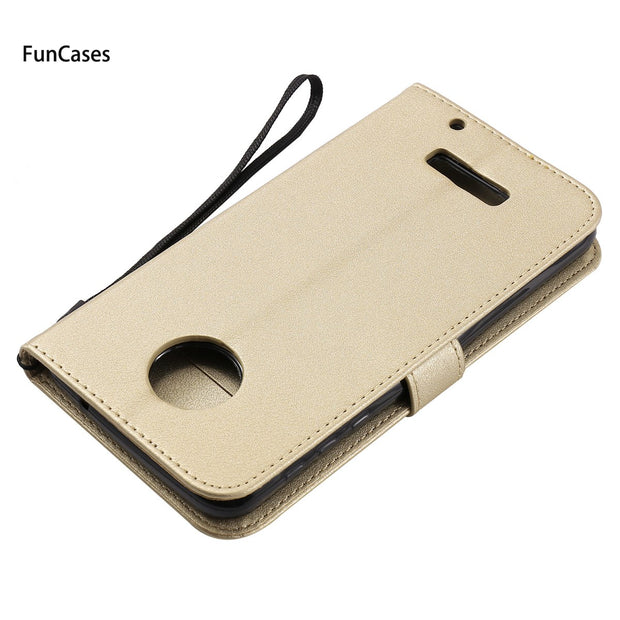 Hot Wallet Phone Case SFor Etui Moto Z Holsters Clips Case Capinhas Sports Mobile Phone Case For Motorola Z Fitted Case Cuaderno