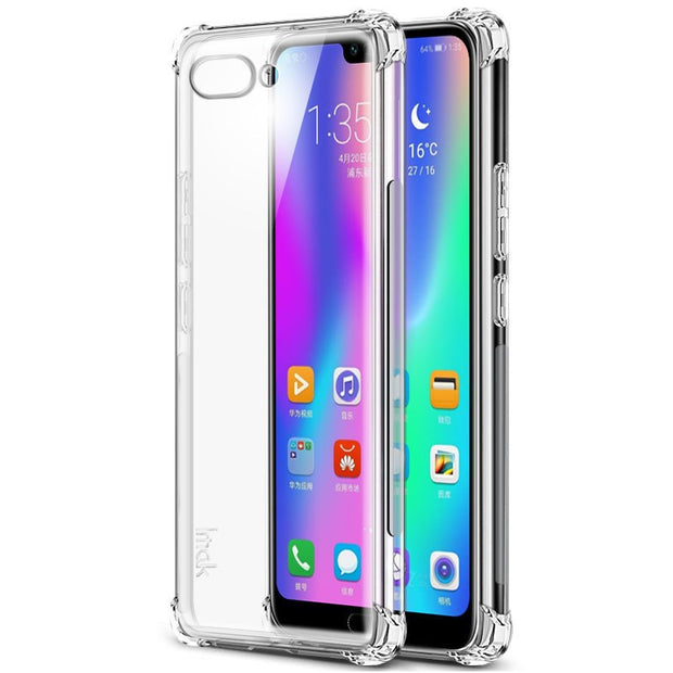 Huawei Honor 10 Case Honor 10 Cover IMAK Shockproof Soft Silicon TPU Back Cover SFor Huawei Honor 10 Honor10 Funda