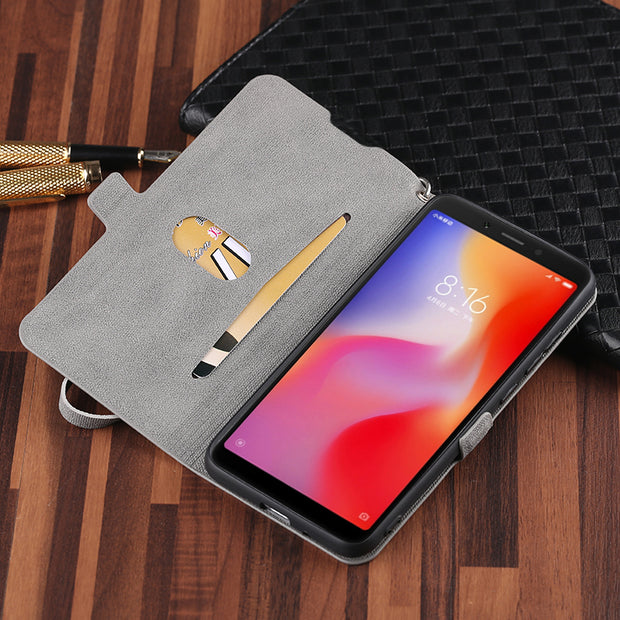 Huawei Honor V20 Case 6.4 Inch Leather Flip Silicone Soft Anti-Knock Protective Back Cover For Huawei Honor View 20 Cover