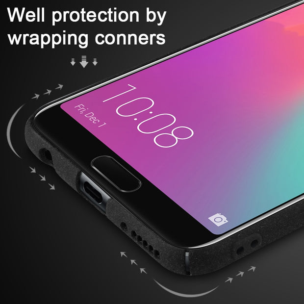 Huawei Nova 3i Case IMAK Hard Plastic PC Back Cover Ring Holder Case For Huawei P Smart Plus 6.3 Inch Gift Screen Protector