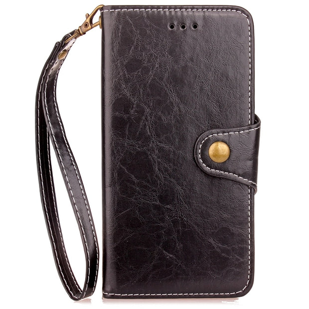 Huawei P8 Lite Case P8 Mini Luxury Leather Silicone Flip Wallet Phone Cover Coque Huawei P8 Lite 2017 / Hawei Honor 8 Lite Case
