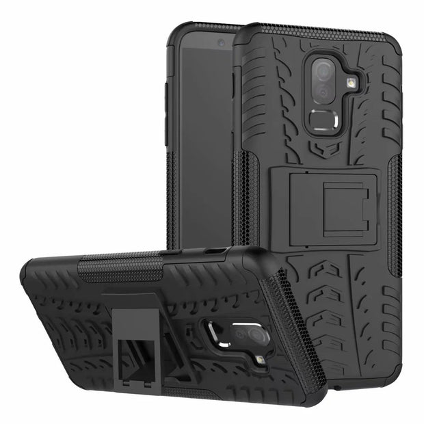 Hybrid PC+TPU Case For Samsung Galaxy J8 2018 Shockproof Armor Phone Cover For Galaxy J8 2018