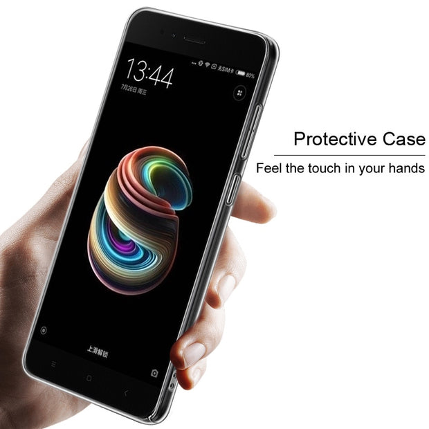 IMAK Crystal Case II Pro For Xiaomi 5X Scratch-resistant Clear PC Hard Phone Cover