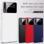 IMAK For Huawei P20 Case Jazz Lens Skin Tactility Luxury Hard PC Back Case For Huawei P20 Pro / P20 Lite, +Gift Screen Protector
